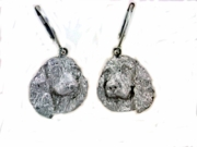 English Springer Spaniel Head ER500 LBD Earring