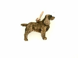 Field Spaniel C378R/Rhodium Color (RG)