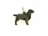 Field Spaniel C378W/Rhodium Black (WG)