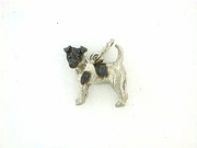 Fox Terrier-Smooth C198W/Rhodium (WG)