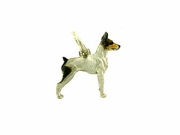 Fox Terrier-Toy C368W/Rhodium (WG)