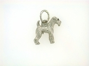 Fox Terrier-Wire C280W/Wings/Rhodium E&N (WG)