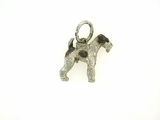Fox Terrier-Wire C280W/Wings/Rhodium (WG)