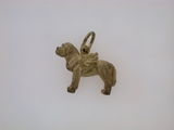 French Mastiff w/Wings C521Y/Rhodium  Color