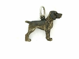 German Shorthair Pointer C165W/Rhodium