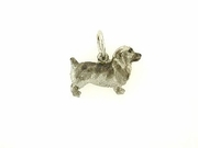 Glen Of Imaal Terrier C344W/Rhodium (WG)