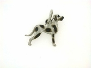 Great Dane C270W Uncropped Ears/Rhodium (WG)