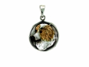 Great Pyrenees C574W Head/Disc Rhodium Color