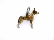 Ibizan Hound C402W Wire-haired/Rhodium Color (WG)