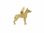 Ibizan Hound C402Y Wire-haired/Rhodium E&N