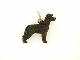 Irish Water Spaniel C373R/Rhodium Color (RG)
