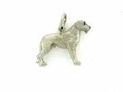 Irish Wolfhound C204W/Rhodium E&N (WG)