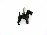 Lakeland Terrier C383W/Rhodium Black (WG)