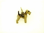 Lakeland Terrier C383Y/Rhodium