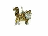 Maine Coon F19W/Rhodium Brown Tor&WH/5-White D Collar & Yellow D Eyes (WG)