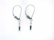 Milk Bottle ERF25Lever Back Earring