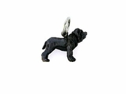 Neapolitan Mastiff C403W Uncropped Ears/Rhodium Black (WG)