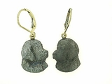 Newfoundland Head ER505Y/Rhodium Black LBD Earring