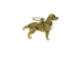 Nova Scotia Duck-Tolling Terrier C350W/Rhodium Color (WG)