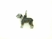 Old English Sheepdog C544W/Rhodium