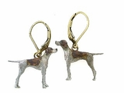 Pointer ER222Y/Rhodium LBD Earring