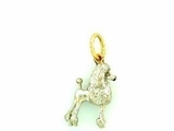 Poodle C020Y Show Cut/Rhodium White