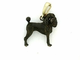 Poodle C082Y Summer Cut/Rhodium Black & Cognac D Eyes & Pearl Enhancer