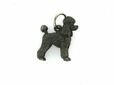 Poodle C247W Puppy Cut/Rhodium Black (WG)