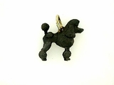 Poodle C362Y Show Cut/Rhodium Black