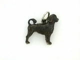 Portuguese Water Dog C145W/Rhodium Black (WG)