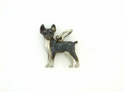 Rat Terrier C199W/Rhodium Black (WG)