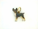 Rat Terrier C199Y/Rhodium