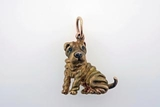 Shar Pei C033R/Rhodium Color (RG)