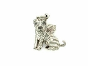 Shar Pei C150W/Wings/Rhodium E&N (WG)