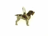 Spinone Italiano C377W/Rhodium Color (WG)