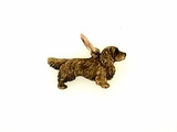 Sussex Spaniel C366R/Rhodium Color (RG)