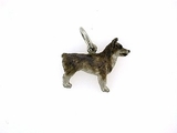 Swedish Vallhund C388W/Rhodium (WG)