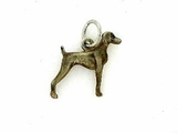 Weimaraner C065W/Rhodium Color (WG)