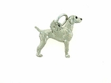 Weimaraner C440W/Wings/Rhodium E&N