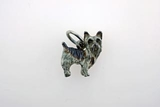Yorkshire C127W Short Cut Terrier/Rhodium (WG)