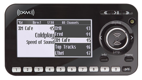 Audiovox Xpress R XM Radio Receiver with Vehicle Kit XMCK20P