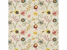 BAKER LIFESTYLES FOXWOOD EMBROIDERY FABRIC MULTI