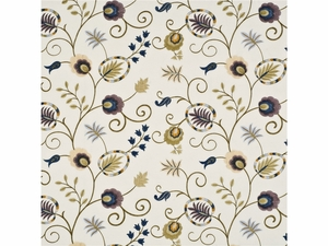 BAKER LIFESTYLES FOXWOOD EMBROIDERY FABRIC