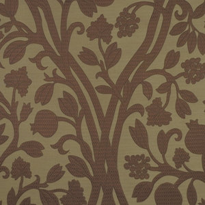 BEACON HILL AMERIKEY SILK FLORAL FABRIC TEAK