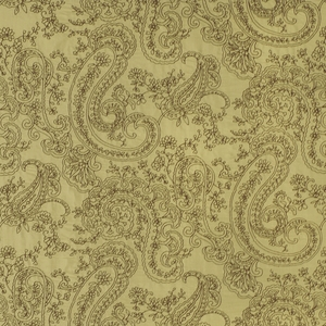 BEACON HILL AUGUSTUS SILK GRANDEUR EMBROIDERED FABRIC EARTH