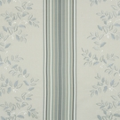 BEACON HILL BELLE STRIPE EMBROIDERED FABRIC DOVE BLUE