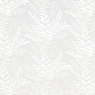 BEACON HILL CARNEGIE HILL FLORAL EMBROIDERED LINEN FABRIC WHITE