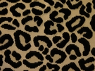 BEACON HILL CHEETAH VELVET ANIMALE VISCOSE UPHOLSTERY FABRIC BLACK AND WHITE