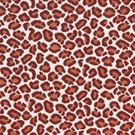 BEACON HILL CHEETAH VELVET ANIMALE VISCOSE UPHOLSTERY FABRIC CORAL