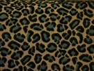 BEACON HILL CHEETAH VELVET ANIMALE VISCOSE UPHOLSTERY FABRIC EMERALD